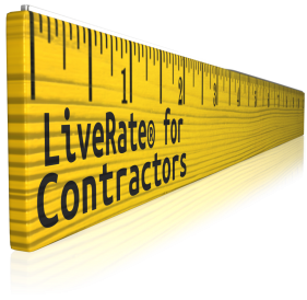 comparing rates with LiveRate for Contractors