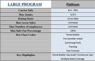 Platinum Program Infographic